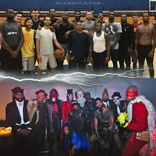 lebron halloween. cleveland cavaliers transform for lebron james\u0027 2017 halloween party lebron