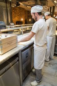 Covent Garden Kitchen Chefs Prepare Pizza At Franco Manca Covent Garden The Publicity