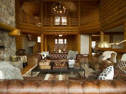 stratton mountain large luxury log home 6 bedrooms