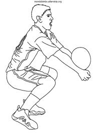Disegni Da Colorare Di Bambini Che Fanno Sport Fredrotgans