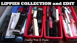 lippies collection edit makeup beauty