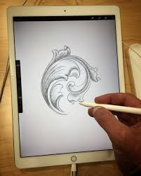 Ipad Design Sketch My My Very First Ipad Pro Sketch With Apple Pencil And