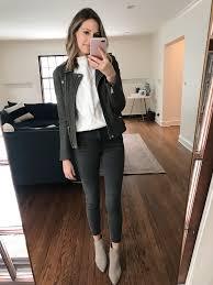 how to style leather jacket 3 ways