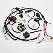 gy6 150cc 200cc 250cc full electrics stator wire harness loom gy6 150cc 200cc 250cc full electrics stator wire harness loom magneto coil cdi rectifier solenoid atv