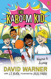 book cover image jpg home and away kaboom kid 6