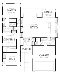 modern house plans square foot plan open ranch style small sq ft house plans with garage