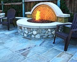 glass rock firepit fire pit glass rocks propane home depot diy glass rock fire pit