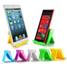 universal desk mobile phone stand holder cell phone foldable adjule smartphone tablet stand for iphone x