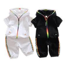 <b>2019 Children Summer Cotton</b> Garment Baby Boys Girls Candy ...