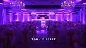 Wedding Ballroom Lighting Led Lights For Wedding Ballroom Youtube