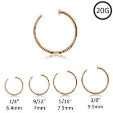 Nose Ring Size Chart Nose Ring Piercing Size Famous Ring Images Nebraskarsol Com