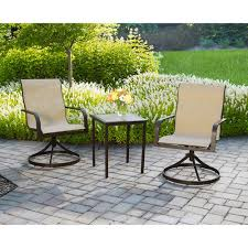 crossman piece outdoor bistro: im looking for information on the mainstays square tile  piece outdoor bistro set seats  so i would like to describe here mainstays square tile  piece