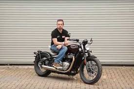 first ride bobber black keeps true to triumph tradition mcn