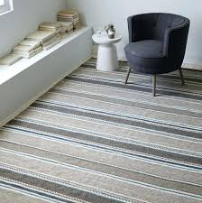 gray and white striped rug grey blue runner
