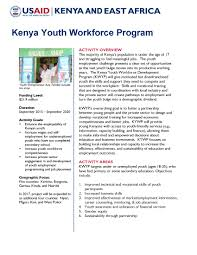 youth employment and skills program k yes u s agency youth employment and skills program k yes