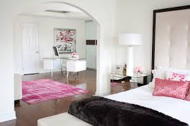 ultra modern bedroom furniture. Example Of A Trendy Master Medium Tone Wood Floor Bedroom Design In Toronto With White Walls Ultra Modern Furniture