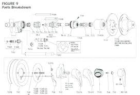 replace shower handle valve replacement shower handle replacing temp shower valve image bathroom how to install