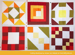 Free Domino Quilt Block Pattern + Workshop (#24) & Free Domino Quilt Block Pattern + Workshop :: Janeen van Niekerk ::  FineCraftGuild. Adamdwight.com