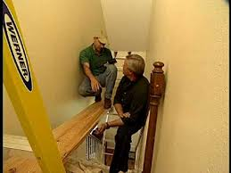 how to make a scaffold to paint a stairway