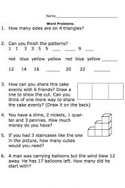 Kids : Math Problems For Children Printables Word Fun Here You ...