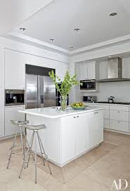 White Kitchen Foxy Contemporary White Kitchen With Metallic Hood And Black Top