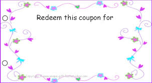 Plain Gift Certificate Template Free Templates Blank Coupons