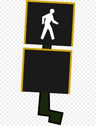 Walking Sign Light Traffic Light Cartoon Clipart Walking Sign Road
