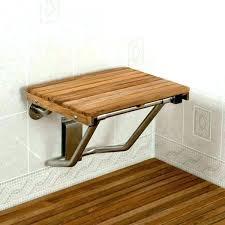 wall mounted folding teak shower bench compliant teak shower seats and benches regarding wall mounted seat