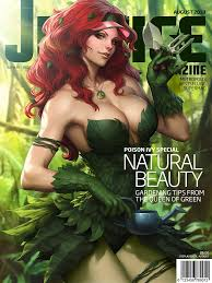"""Stunning """"Justice Magazine"""" covers 