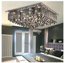crystal chandelier flush mount newly modern led crystal ceiling lamp modern square and round crystal chandelier