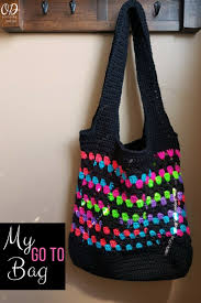 Design Go Bags My Go To Bag A Free Crochet Pattern Oombawka Design Crochet