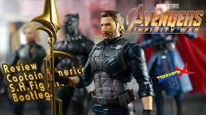 review capn america sh figuarts avengers infinity war bootleg knock off pirata revision español