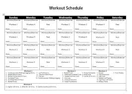 77 Bright Gym Workout Chart Hd Images Pdf