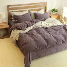 bed sheet and comforter sets 60 linen 40 cotton bedding set king size bed linen bedclothes