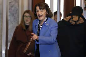 She assumed office in 1993. Sen Dianne Feinstein Leaves Trump Impeachment Trial Early Wednesday Night Sfchronicle Com