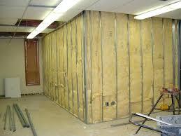 Insulation Interior Walls In Renovation