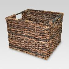 Large wicker basket Wicker Log 11 Target 11
