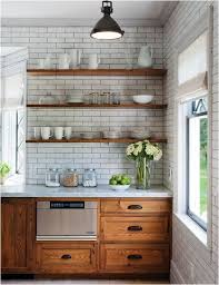 kitchen wooden furniture. todiefor reclaimed wood floating shelves with white subway tile rustic kitchen by crown point cabinetry wooden furniture