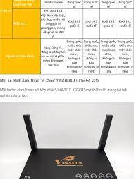 Android Tivi Box VINABOX X9 (Android 7.1, hỗ trợ Voice Search) + Tặng tài  khoản VIP - Phân phối bởi Miracles Company