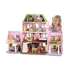 Bộ đồ chơi căn nhà yêu thương Fisher Price Loving Family Grand Dollhouse nhập  khẩu 100% từ Mỹ