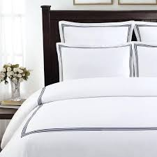 hotel duvet cover echelon home three line hotel collection cotton sateen 3 piece duvet cover hotel duvet cover hotel collection
