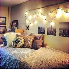 college dorm lights typically dorm rooms have fluorescent lighting making the room feel less like a home and more like a jail cell adding a strand of lights