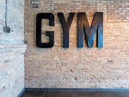 The fitness center at these boutique loft apartments in Streeterville has  boxing and TRX weight training