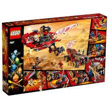 LEGO Ninjago Land Bounty 70677 Building Set for Creative Play - Walmart.com  - Walmart.com
