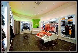 Modern retail store layout, retail localization