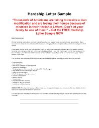 Write Loan Modification Hardship Letter Best Way To Write A Hardship Letter