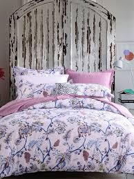 classic purple flower pattern 4pcs duvet cover set single size share