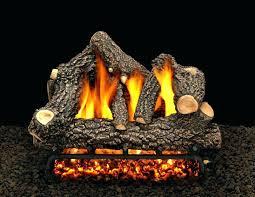 oak gas fireplace propane gas fireplace logs with remote martin oak in vent free propane gas