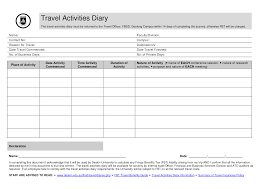 Exelent Travel Journal Template Illustration - Resume Ideas ...
