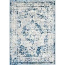 sofia blue 7 x 10 rug